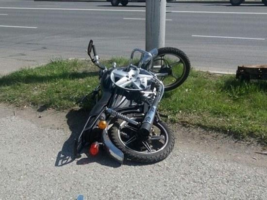 Два мотоциклиста попали в больницу после ДТП в Забайкалье