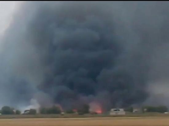 В Оренбуржье объявлен высокий класс пожарной опасности