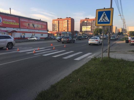 Подростка на самокате сбили в Новосибирске