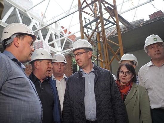 Шапша потребовал ускорить  строительство Дворца спорта в Калуге