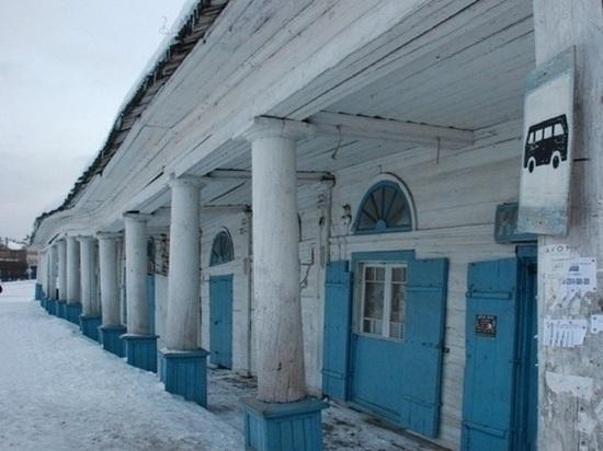 В костромском Солигаличе возобновилась реставрация торговых рядов