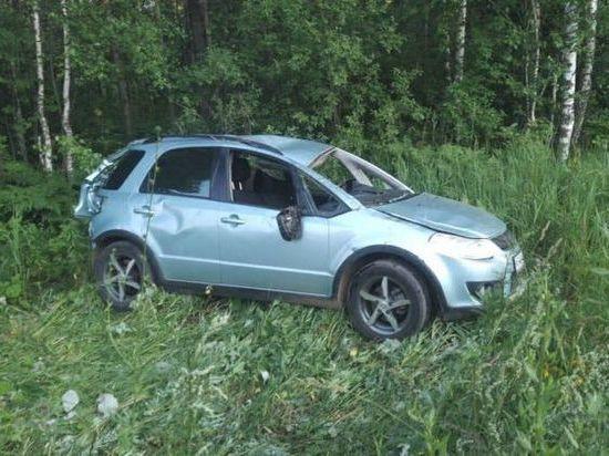 Иномарка столкнулась с грузовиком в Башкирии: два человека госпитализированы