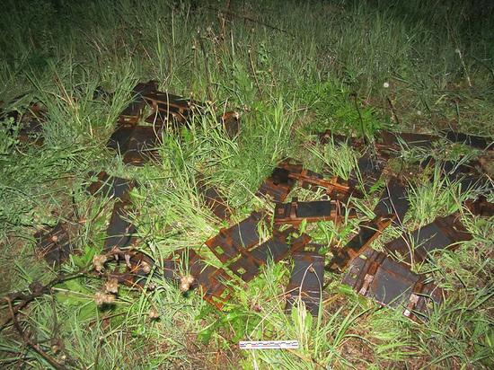 Юных юргинцев поймали на краже железнодорожных комплектующих