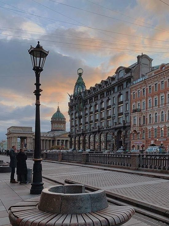 Циклон оставит в Петербурге прохладную погоду
