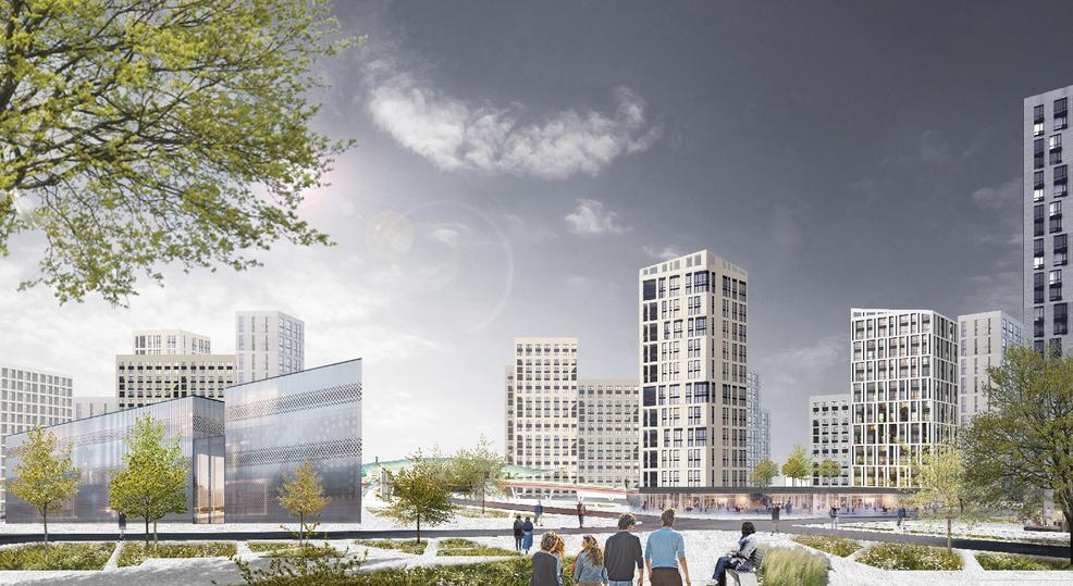 Благодаря механизму эскроу в 2031 году в Подмосковье появится крупнейший жилой квартал