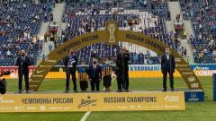 Губернатора Петербурга освистали на награждении «Зенита»