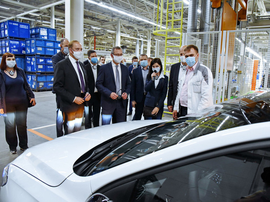 Шапша обсудил с руководством Volkswagen перспективы развития автоотрасли