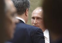 Запись разговора Путина и Порошенко попала в Сеть