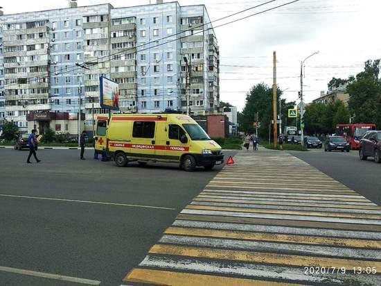 В центре Рязани «Крайслер» сбил пешехода