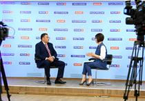 Войны не будет: Игорь Руденя в прямом эфире дал ответы телеканалу «Россия 24» Тверь