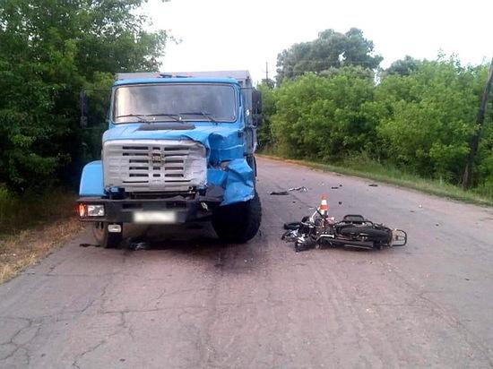 В Воронежской области участились ДТП с двухколесным транспортом