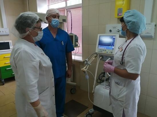 В рязанском роддоме №2 появился аппарат ИВЛ для новорожденных