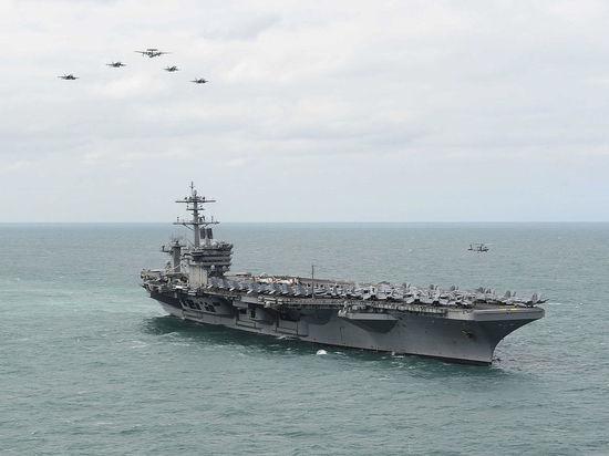 На отправленных в Южно-Китайское море американских авианосцах приняты «чрезвычайные меры»