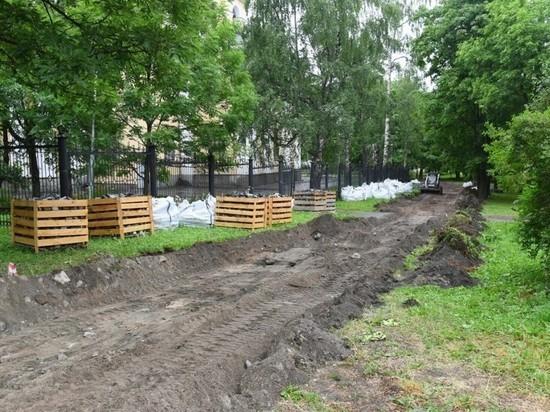 Парк у собора Александра Невского преобразится до конца лета