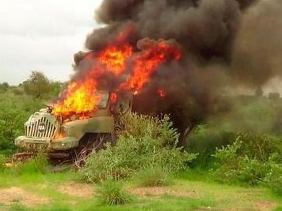 Боевики ИГ напали на конвой ВС Нигерии