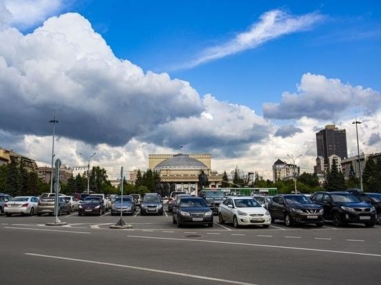 """Северо-западный ветер """"сдул"""" из Новосибирска жару"""