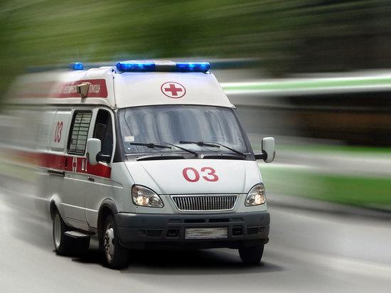 Девочка попала под машину в Отрадном