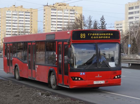 Казанский маршрут №89 временно меняет схему движения