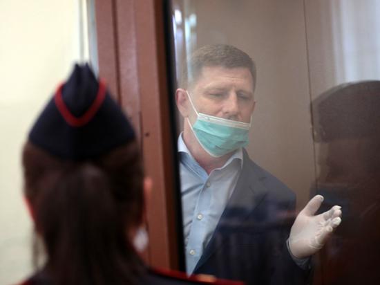 Сергей Фургал рассказал суду о своей аллергии на латекс