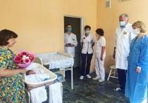 Глава Серпухова поздравила молодых мам с рождением малышей