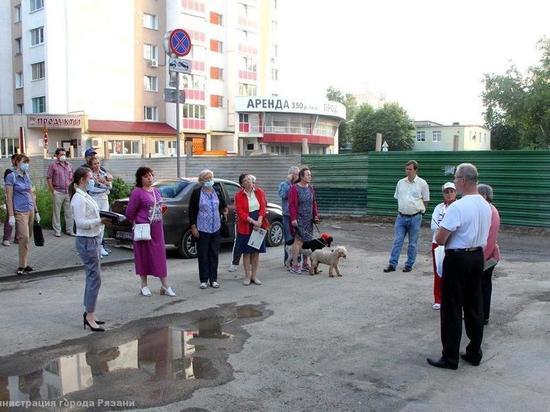 Сотрудники мэрии Рязани встретились с жителями улицы Фирсова