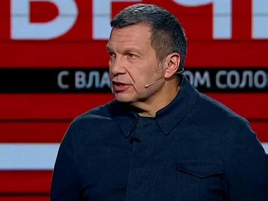 Соловьев назвал Уткина «нацистским мерзавцем» из-за слов о Канделаки
