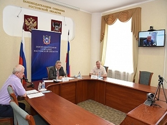 В донском парламенте обсудили изменения в законопроекте об удаленной работе