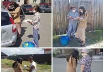 2619 многодетных и нуждающихся семей Кызыла получили продукты