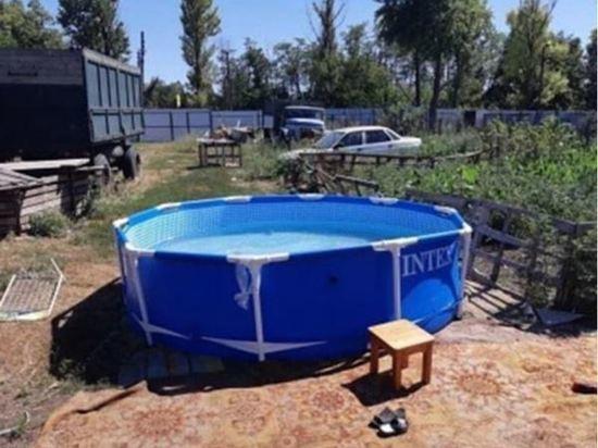 В Ростовской области 2-летний мальчик утонул в каркасном бассейне