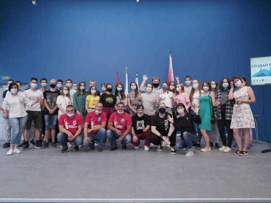 Смоленские волонтеры приняли участие в молодёжном форуме в новом КВЦ города Вязьма