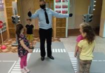 ГИБДД в Иваново занялось с дошкольниками