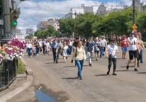В Хабаровске устроили стихийный митинг в поддержку арестованного Фургала