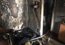 На пожаре в Усолье эвакуировали девять взрослых и ребёнка