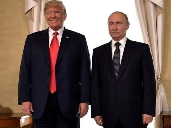 """Трамп заявил о """"вообще-то очень хороших отношениях"""" с Путиным"""