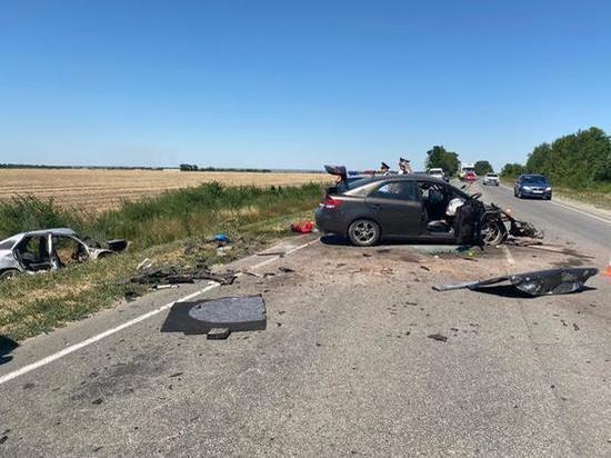 Прокуратурой Ростовской области ведется проверка по факту смертельного ДТП в Багаевском районе