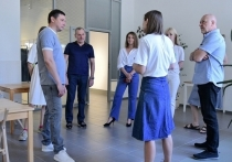 Мэр Краснодара посетил центр современного искусства «Типография»