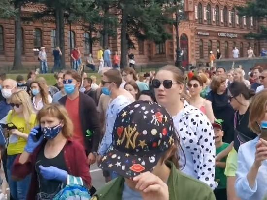 ЛДПР отвергла причастность к митингу в Хабаровске