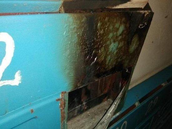 В Сорске в одном из домов загорелись бумаги в почтовом ящике