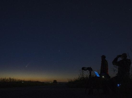 Туляк запечатлел ярчайшую комету года