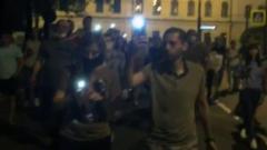Митингующие в Хабаровске просят освобождения Сергея Фургала: видео