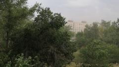 На Оренбург обрушилась пыльная буря