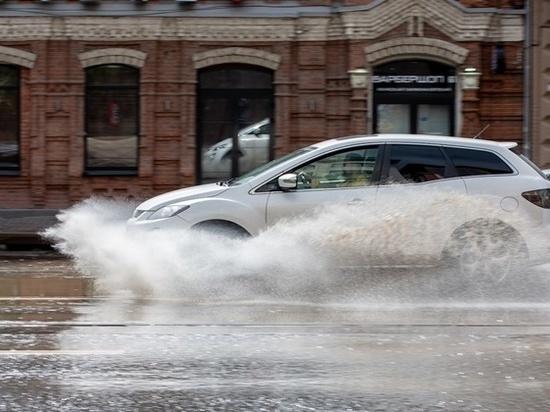 Пасмурная погода и дождь ожидается в Ростове на этой неделе