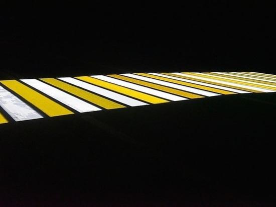 В Калуге обустроят первый проекционный пешеходный переход