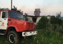Мужчина сгорел во время пожара в калужской деревне