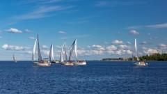 В акватории Онежского озера прошли открытые соревнования по парусному спорту
