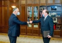 Игорь Додон встретился с послом России в Молдове