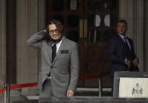 В Лондоне продолжается слушание скандального дела вокруг кинозвезды Джонни Деппа