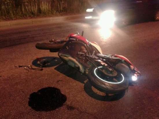 В Хакасии погиб мотоциклист