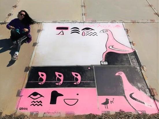 Шалость удалась: хабаровская художница Runaway Udon преображает город