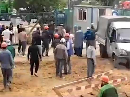В результате пострадал один рабочий